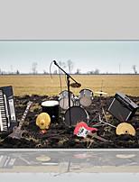 Недорогие -Холст для печати Современный Классика Деревня Modern,1 панель Холст Горизонтальная С картинкой Декор стены Украшение дома