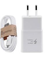 preiswerte -Ladegeräte für Zuhause Telefon USB Ladegerät US Stecker EU Stecker Schnellladen Lade-Kit 1 USB Anschluss 2A AC 100V-240V