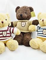 preiswerte -Plüschtiere Kuscheltiere & Plüschtiere Spielzeuge Bär Animal Shape Tier Tiere Freunde Familie Niedlich Weich Karikatur Spielzeug Cartoon