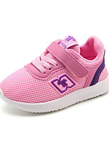 cheap -Girls' Shoes Breathable Mesh Spring Summer Comfort First Walkers Light Soles Athletic Shoes Running Shoes Gore Hook & Loop for Athletic