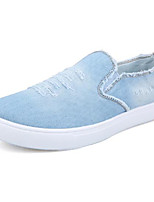 cheap -Men's Shoes Canvas Spring Summer Comfort Loafers & Slip-Ons for Casual Light Blue Dark Blue
