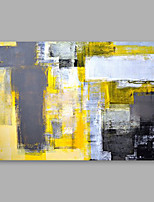 preiswerte -Handgemalte Abstrakt Horizontal,Modern Leinwand Hang-Ölgemälde Haus Dekoration Ein Panel