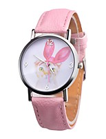 cheap -Women's Kid's Casual Watch Fashion Watch Unique Creative Watch Chinese Quartz Chronograph Casual Watch Leather Band Minimalist Elegant