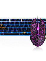 cheap -Dareu  G60 Wired  Mechanical keyboard   Mouse black Switches 1.8m seven key 6000DPI