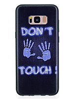 cheap -Case For Samsung Galaxy S8 Plus S8 IMD Pattern Back Cover Punk Soft TPU for S8 Plus S8 S7 edge S7 S6 edge S6