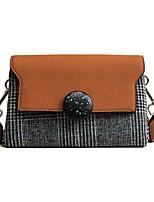 cheap -Women Bags PU Crossbody Bag Pattern / Print Zipper for Outdoor Office & Career All Season Green Black Orange Red Khaki