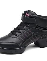 """economico -Da donna Sneakers da danza moderna Finta pelle Sneaker All'aperto A fantasia Piatto Nero Sotto 1 """" Personalizzabile"""