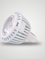 cheap -1pc 7W 520lm GU5.3 LED Spotlight 1 LEDs COB LED Lights Warm White 3000K AC/DC 12V
