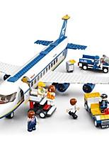 cheap -Sluban Building Blocks Plane Toys Airport Vehicles Kids 678 Pieces