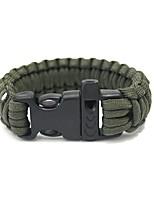 cheap -Survival Bracelet Camping / Hiking / Caving Camping & Hiking Outdoor Nylon fiber 1 pcs