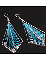 cheap -Women's Drop Earrings Bohemian Oversized Cord Alloy Line Jewelry Party Daily