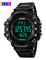 cheap -Men's Women's Sport Watch Fashion Watch Digital Watch Chinese Digital Calendar / date / day Water Resistant / Water Proof Pedometer
