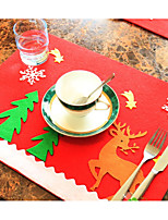 Недорогие -Рождество Для вечеринок Нетканые ткани Свадебные украшения Праздник Сказка Романтика Весна, осень, зима, лето