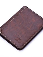 cheap -Men Bags PU Wallet Pattern / Print for Shopping Casual All Season Coffee Black Blue