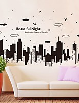 cheap -Abstract 3D Wall Stickers Plane Wall Stickers Decorative Wall Stickers,Paper Home Decoration Wall Decal Wall