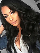 cheap -Natural Body Wave Brazilian Virgin Human Hair Lace Front Wigs With Baby Hair Glueless Lace Wigs For Black Women