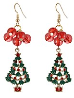 cheap -Women's Drop Earrings , Cartoon Fashion Colorful Alloy Christmas tree Jewelry Christmas Party