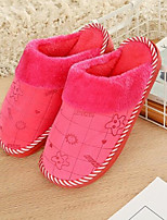 cheap -Women's Shoes Cotton Polyamide fabric Winter Comfort Slippers & Flip-Flops Round Toe for Casual Outdoor Purple Red Pink