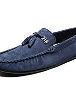 cheap -Men's Shoes Pigskin Spring Fall Comfort Loafers & Slip-Ons for Casual Office & Career Khaki Blue Green Brown Gray