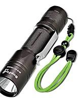abordables -T6 Kits de Linternas Linternas de Mano LED 1100 lm 5 Modo Cree XLamp XM-L2 con pila Linterna de Luz LED Camping/Senderismo/Cuevas De Uso