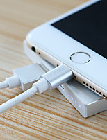 Lightning USB Cable Adapter Quick Charge Braided Cable For iPhone 100 cm Zinc Alloy