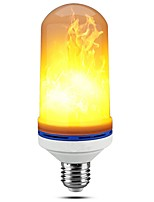 preiswerte -1pc 5W 150lm E26 / E27 LED Mais-Birnen T 99 LED-Perlen SMD 2835 Abblendbar Flamme flackert Dekorativ Warmes Weiß 110-120V 220-240V