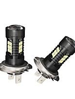 economico -2pcs lampadina del faro di camry 21w h7 ha condotto la lampadina del faro di luminosità ultra della lampadina per i modelli di automobile