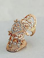 Недорогие -Муж. Жен. манжета кольцо Стразы Мода Массивные украшения Искусственный бриллиант Сплав Бижутерия Повседневные