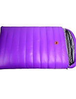 cheap -Sleeping Bag Envelope / Rectangular Bag Duck Down 20°C Quick Dry Windproof 220X130 Camping / Hiking / Caving Camping & Hiking Double
