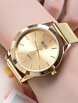 cheap -Men's Women's Fashion Watch Wrist watch Chinese Quartz Casual Watch Alloy Band Cool Gold Rose Gold