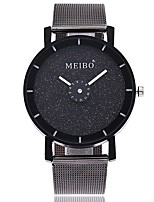 cheap -Women's Fashion Watch Wrist watch Chinese Quartz Large Dial Alloy Band Casual Minimalist Black