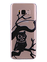 cheap -Case For Samsung Galaxy S8 Plus S8 IMD Pattern Back Cover Transparent Owl Soft TPU for S8 Plus S8 S7 edge S7 S6 edge S6 S5