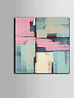cheap -Hand-Painted Abstract Square,Modern Canvas Oil Painting Home Decoration One Panel