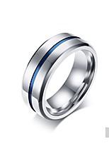 Недорогие -Муж. Классические кольца Классика Elegant Титан Круглый Бижутерия Свадьба Для вечеринок Повседневные