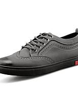 economico -Da uomo Scarpe PU (Poliuretano) Primavera Autunno Comoda Sneakers per Casual Nero Grigio
