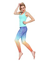 cheap -Women's Running Tights Cycling Fitness, Running & Yoga Pants / Trousers for Yoga Running/Jogging Exercise & Fitness Rayon Polyester Tight
