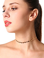 cheap -Women's Circle Casual Dresswear Choker Necklace , Copper Choker Necklace , Daily Office & Career
