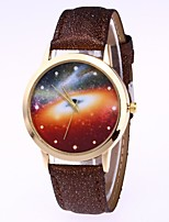 cheap -Women's Wrist watch Chinese Quartz Moon Phase PU Band Colorful Black White Blue Brown Green Pink Rose