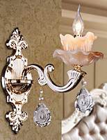 Crystal Modern/Contemporary Wall Sconces For Bedroom Wall Light 40W
