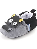 cheap -Baby Shoes Fabric Spring Fall Comfort First Walkers Crib Shoes Flats Gore for Casual Outdoor Black