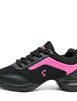 """economico -Da donna Sneakers da danza moderna Maglia traspirante Sneaker All'aperto Basso Bianco Nero Grigio 1 """"- 1 3/4"""" Personalizzabile"""