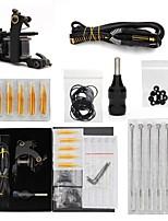 preiswerte -Professionelles Tattoo Kit 1 Set Gusseisen Tattoo Maschine Tattoo Maschine 1 x Gusseisen-Tattoomaschine für Umrißlinien und Schattierung
