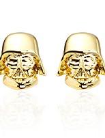 Недорогие -Soldier Золотой Запонки Медь Классический Мода Повседневные Официальные Муж. Бижутерия