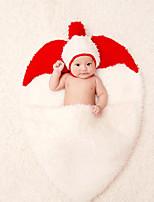cheap -Baby Unisex Christmas Birthday Color Block Clothing Set,Cotton All Seasons Cute Sleeveless White