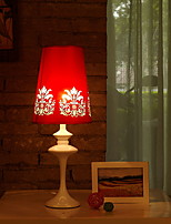 cheap -Ambient Light Artistic Table Lamp Eye Protection On/Off Switch AC Powered 220V Red