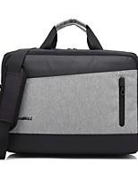 economico -Stile britannico di moda da 15,6 pollici con porta usb per la borsa a tracolla portatile porta di ricarica per Dell / hp / sony / acer /