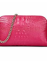 cheap -Women Bags PU Shoulder Bag Pattern / Print Zipper for Casual All Season Red