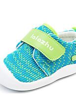 Недорогие -Дети обувь Ткань Зима Осень Удобная обувь Обувь для малышей На плокой подошве для Повседневные Оранжевый Красный Зеленый