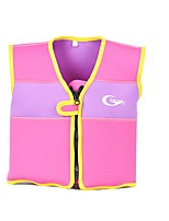 cheap -Life Jacket Kid's Spring, Fall, Winter, Summer Swimming Swimming Polyester Solid Pink Yellow Rose Pool