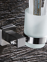 cheap -Modern Toothbrush Holders Stainless steel Solid Square